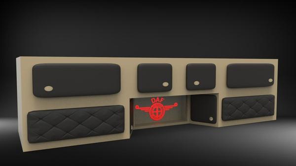 DAF interior chest