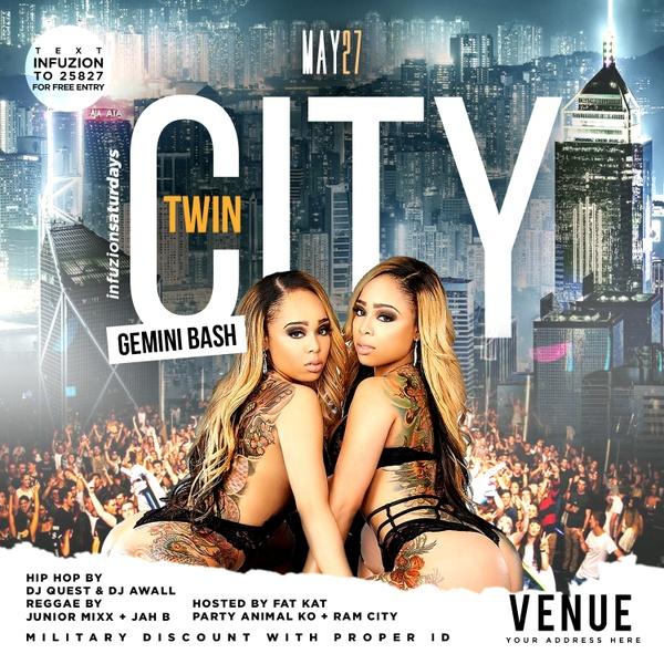 Twin City - Club Flyer