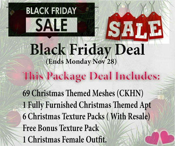 ~~Black Friday Sale~~