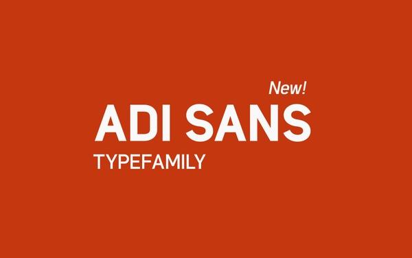 Adi Sans Font