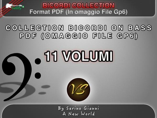 COLLECTION BICORDI ON BASS PDF (OMAGGIO FILE GP6)