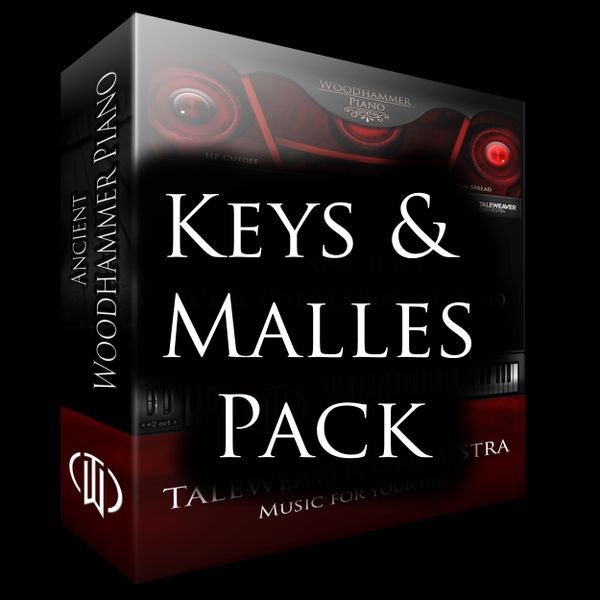 TWO Keys and Mallets PACK - Save 10%