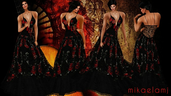 Madrid Gown