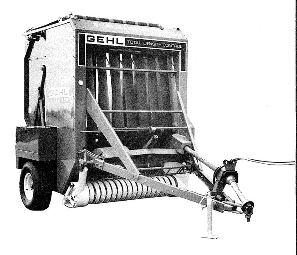 GEHL RB1850 Baler Parts Manual