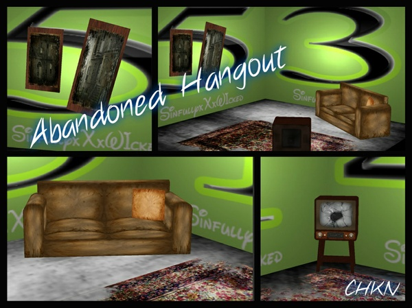 Abandoned Hangout Mesh