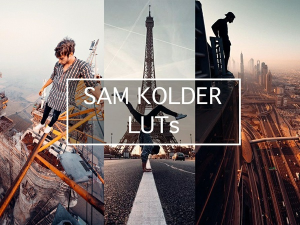 SAM KOLDER COLOR GRADING LUT PRESETS FOR LIGHTROOM, PREMIERE, PHOTOSHOP, AFTEREFFECT