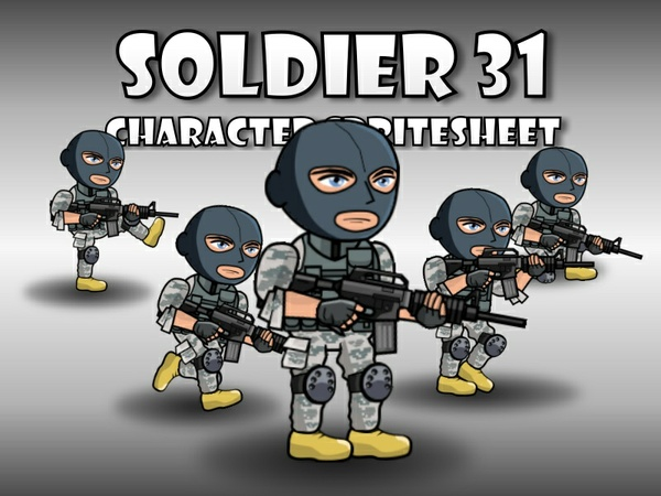 Soldier Character 31