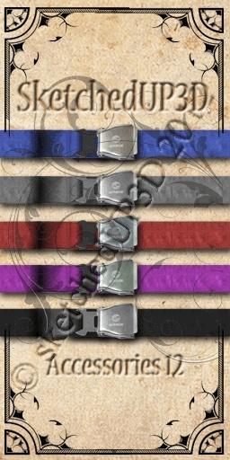 Accessories 12 - Belt Texture Bundle