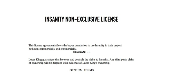 Dark Piano - Insanity License