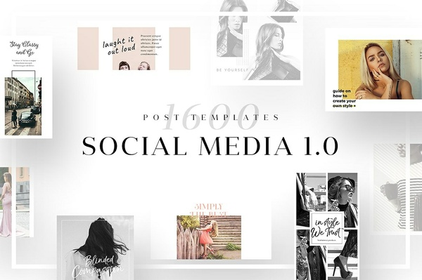 Ultimate Social Media Template Bundle