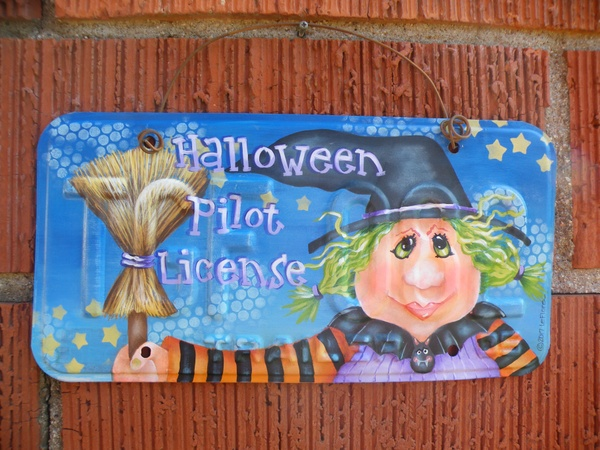 e578 Halloween Pilot License
