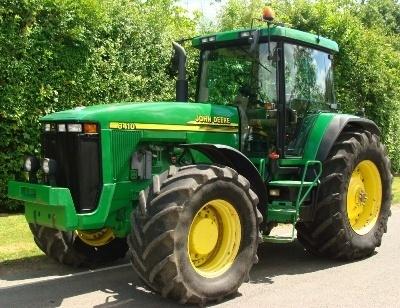 John Deere 8100, 8200, 8300, 8400, 8110, 8210, 8310, 8410 2WD/MFWD Tractors Repair Manual (tm1575)