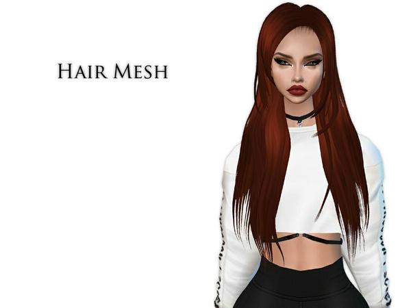 IMVU Mesh - Hair - Aimee