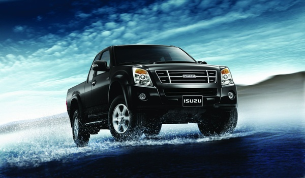 2007 Isuzu D-Max KB P190 OEM Service and Repair Manual