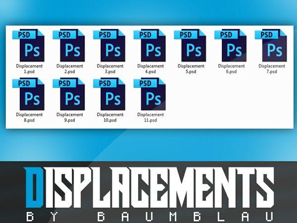 Displacements PACK by BaumBlau