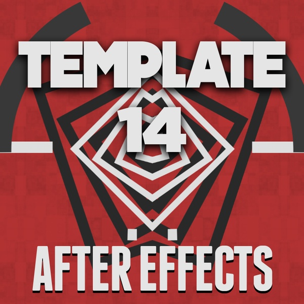 Template 14 After effects edition