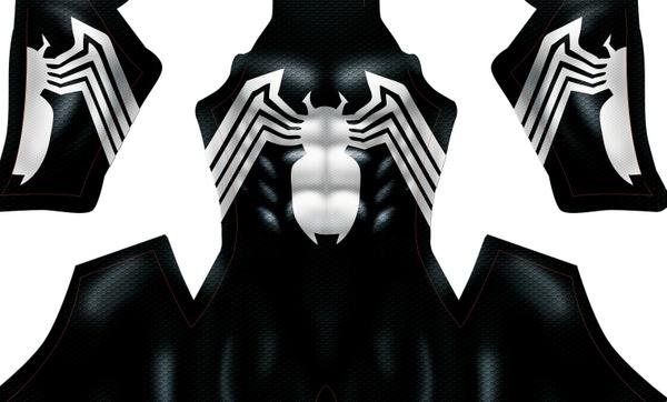 BLACK SYMBIOTE V2 pattern