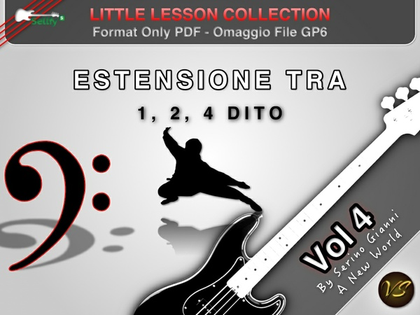 LITTLE LESSON VOL 4 - Format Pdf (in omaggio file Gp6)