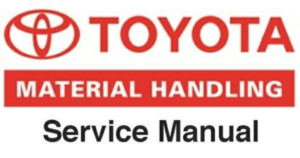 Toyota 7FBCU15-55 & 7FBCHU25 Electric Powered Forklift Workshop Service Repair Manual