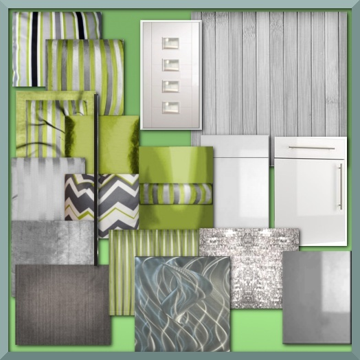 Green & Gray Texture Pack