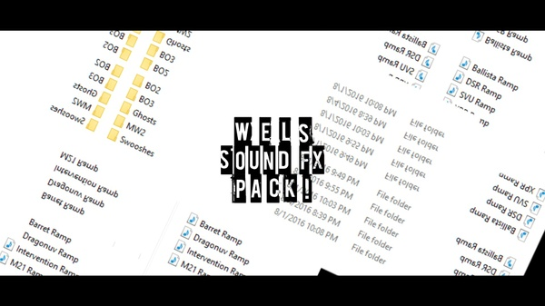 Wels' Ultimate Sound FX Pack!