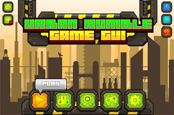 Urban Rumble - Game GUI
