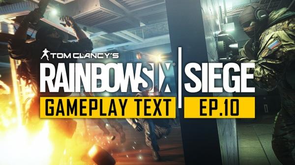Rainbow Six Siege YouTube Gameplay Thumbnail Template - Photoshop