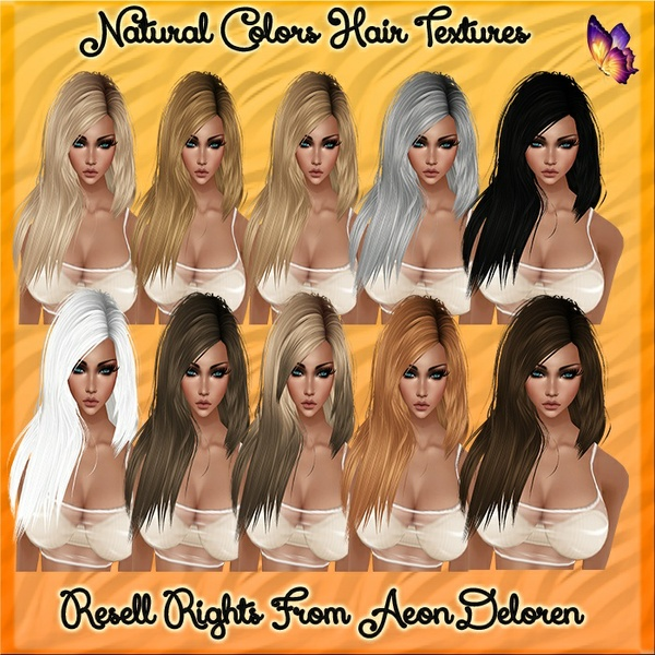 Natural Colors Hair Textures Catty Only!!!