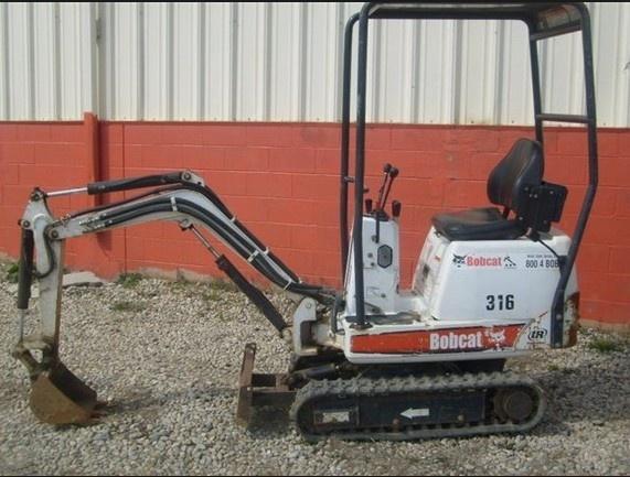 Bobcat 316 Mini Excavator Service Repair Manual (SN: 522811001 & Above, 522911001 & Above)