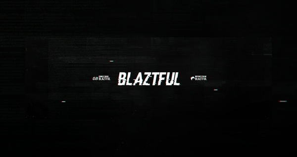 Blaztful Header PSD