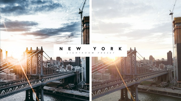 Lightroom Preset NEW YORK