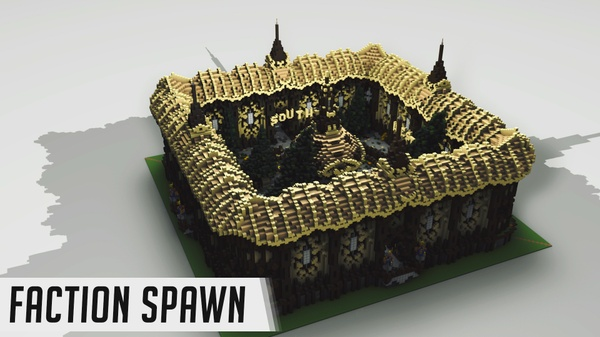 ⭐Minecraft Faction Spawn ❰ EROZIA - 113x113 ❱ [UPDATE]