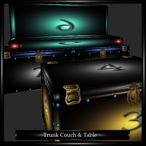 Trunk Couch & Table Mesh