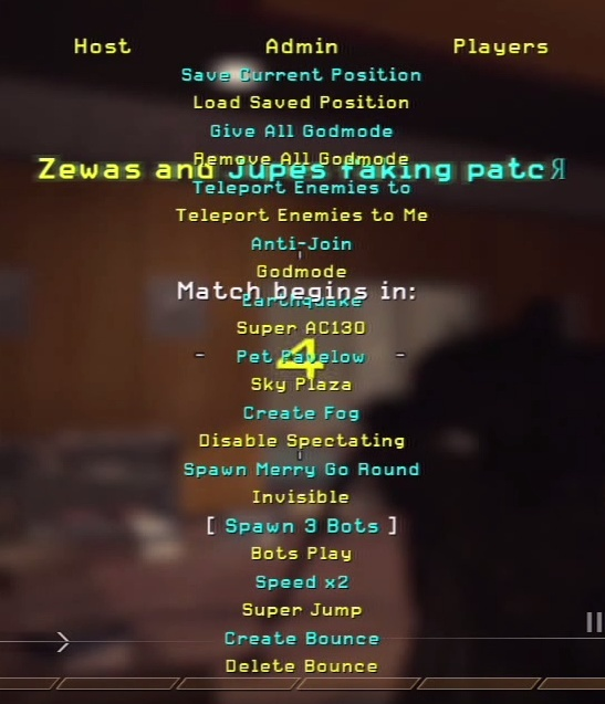 MW2 Zewas and Jupes Backup (Dpad Nac/Overkill)