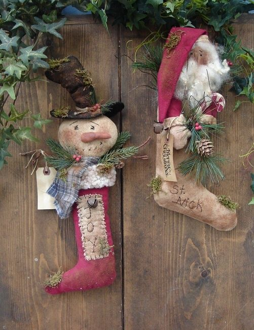 $465 Christmas Stockings e pattern