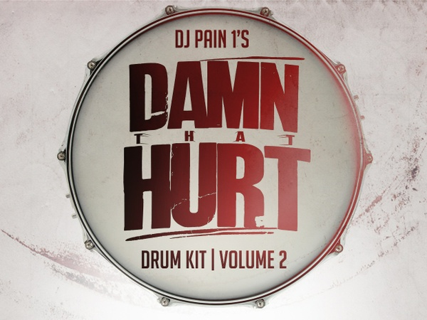 DJ Pain 1 - Damn That Hurt Drum Kit Vol. 2
