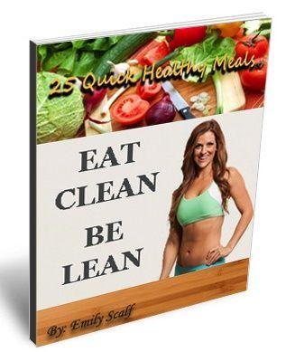 Eat Clean Be Lean  Cookbook