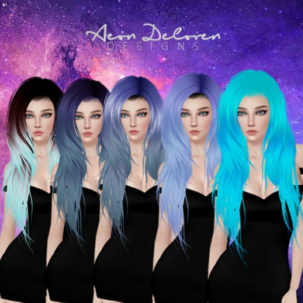 IMVU Hair Pack 4