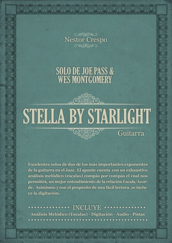 GUITARRA / Joe Pass y Wes Montgomery - Solos sobre Stella by Starlight