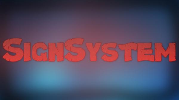 SIGNSYSTEM BUNGEECORD | ORIGINAL BY WELOVESPIGOTPLUGINS