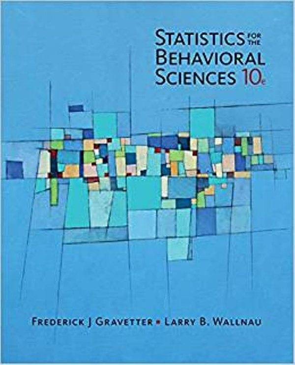 Statistics for The Behavioral Sciences 10th Edition ( PDF , Instant download )