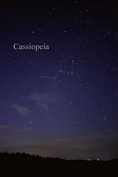 Cassiopeia - Sheet Music for Guitar & Vocal