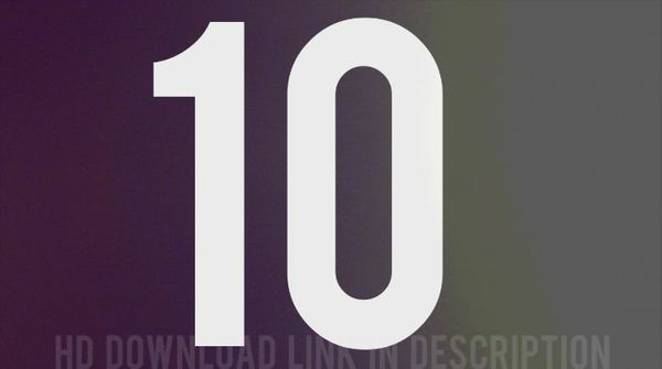10 SECOND COLORFUL COUNTDOWN