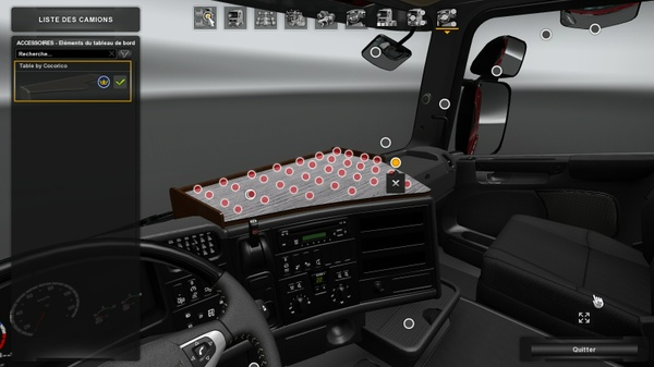 Tablet 5 serie for Scania RJL RS & T