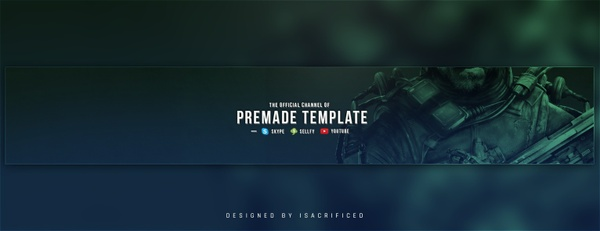 """Optic Soldier"" Youtube Banner"