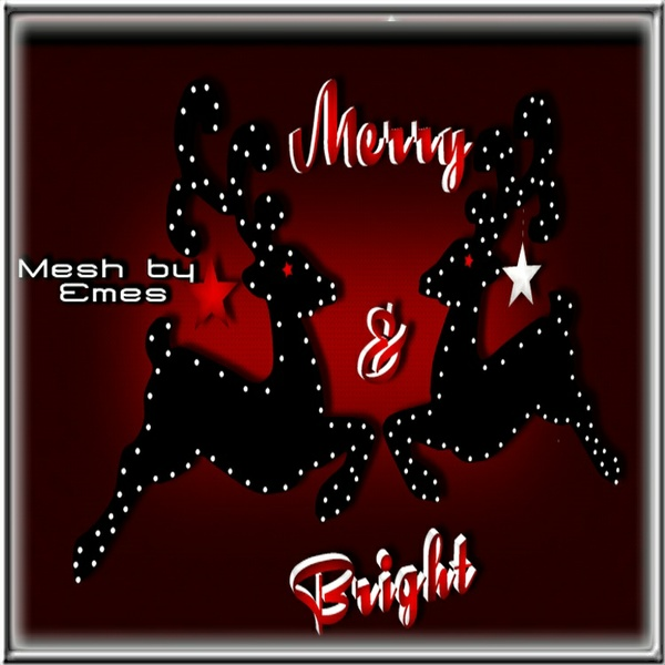 Mesh-Merry & Bright Wall Deco