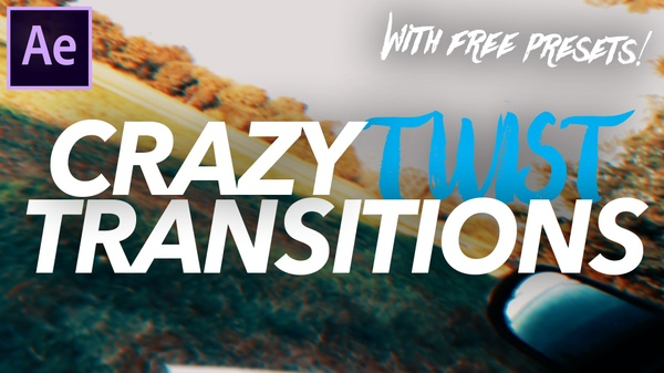 Twist Transition - Adobe After Effects (FREE VERSION)