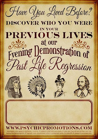 HAVE YOU LIVED BEFORE - Lazy Mans Guide to Past Life Regression
