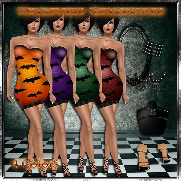 Halloween Collection 4 Colors Catty Only!!!