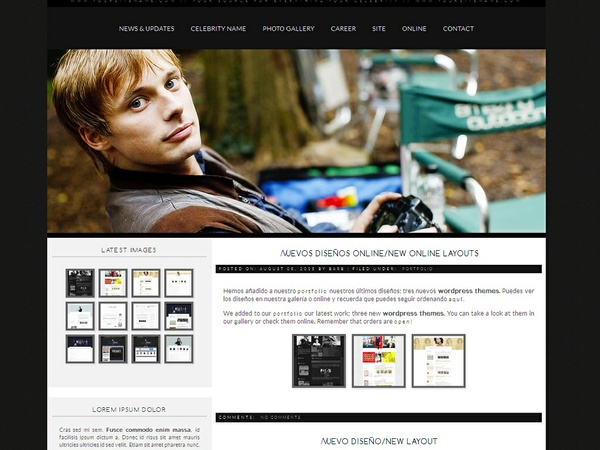 Wordpress premade #5